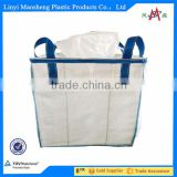 100% pp woven ton bag 1000kg for sand cement and chemical,1 ton jumbo bag, FIBC, bulk bag jute sacks factory
