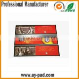 AY Printing Promotion Silicone Bar Mats With Logos, Foldable Nitrile Rubber Border Bar Runner