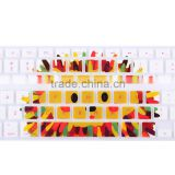 "Colorful Protector Film Silicone Keyboard Cover for Mac Book Pro 13"" 15"" 17"" colored rubber keyboard cover for ma cbook                                                                         Quality Choice"
