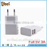 UK US EU plug AC 100-240V DC 5V 1A 2A 3A Wall Charger Power Supply Adapter Switching Adapter