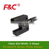 INQUIRY ABOUT FC-spx315, U Shape Photo Sensors Switches, 15mm sensing slot, Fork Sensor, Slot Sensor.