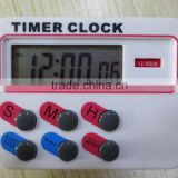 Timer Clock 12 / 24 hours with memory funcation Kitchen Cooking Digital LCD Sport Countdown Calculator