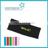 head band;promotional terry towel sports head band; customized head band with embroidery logo