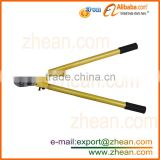 handle with wood insulated shear