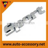Made in china industrial chrome car body bike sticker decal wholesale