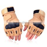 Custom half finger tactical shooting gloves for men