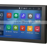 Android 4.4.4 Stereo unversal car GPS of 2 DIN 101mm*176mm 7 inch navi radio Headunit navi free map 1024*600 screen 1.6G CPU