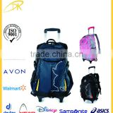 China supplier cheap trolley bag trolley laptop backapck trolley school backpack