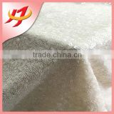 New design Scrub sequin embroidery textile material fabric for tablecloth wedding decoration