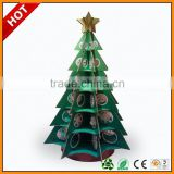 high quality paper packaging christmas gift box ,cardboard paper display shelf for christmas star