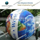 Custom printed inflatable balloon with led for promotion/ Advertising air balloon / Inflatable earth