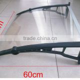 standard Polycarbonate Awning,Canopy door awings with aluminium or alloy plastic bracket