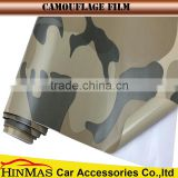 1.52x30m Camouflage decoration sticker car wrap printed bomb vinyl