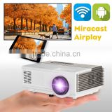 1500 lumens multimedia led lcd portable projector for android phone