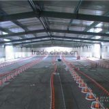 commercial steel structure poultry house/chicken farm/broiler shed