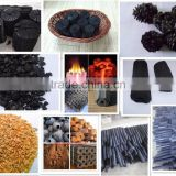 New Energy Wood Sawdust,Rice Husk, Coconut Charcoal Making Machine Made In China