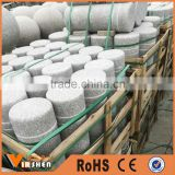 Natural granite car parking stone road barrier ball car stop stone