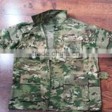 Woodland Camouflage Printed Army Green Fabric Military Uniform