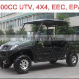 500/600cc UTV 4 Seats,CFMOTO Engine UTV, EPA UTV, 4x4 UTV, 4WD Utility Vehicle, 4 Wheel Drive UTV, Bench UTV, China Cheaper UTV.