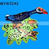 tropical Bird Animal plaques Ceramic outdoor wall plaques