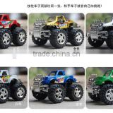 Guo hao hot sale custom pull back car toy models , whloesale pull back car mold