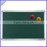 2013 hot selling 120x90cm standard magnetic green chalk board with aluminium frame