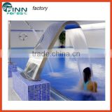 Europe hot sale stainless steel water massage spa furniture