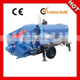 High Quality HBT60S-9-75 Small Trailer Concrete Pump
