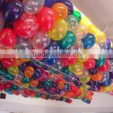 1500 Size 10inch Balloon Drop Net for Romantic wedding/Valentine's Day,Release net wholesale