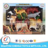 Newst plastic funny zoo animal plastic toy for kidS