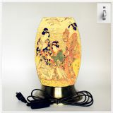 Desk lamp, creative lamp, decorative lamp, LED lamp, Japanese culture lamp (Japan002)