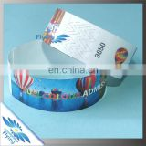 Wholesale Professional Adult Size Tyvek Material Adhesive style disposable paper wristband