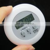 Mini Round LCD Digital Home Kitchen Countdown UP Timer Alarm Games Office