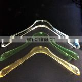Custom design acrylic plastic high profile industrial multifunctional anti-slip hangers