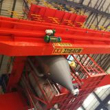 Bridge Crane for Roasting Anode Carbon