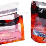 fried chicken bag,roasted chicken packaging bag,hot roast chicken bag, storage pouching bag for Fried Chicken