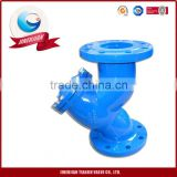 Ansi Flanged Foot Valve Water Y Strainer