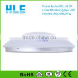 surface mounted energy saving dimmable 15w microwave sensor led ceiling light with CE RoHS