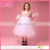 New style kids wedding dress, imported kids dress for young girl