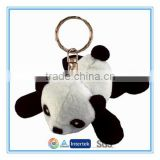 "Lovely 4"" mini plush panda keychain toys"