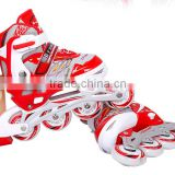 2016 New design roller skating with Aluminum chassis and high rebound pu wheels for cheap price