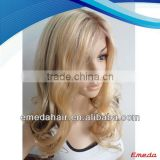 Wholesale price Indian Remy Ocean Wave Hair Full Lace Wig