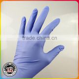 Europe standard disposable S size Powder free medical purple nitrile gloves                                                                         Quality Choice