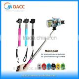 Extendable Handheld monopod with bluetooth shutter