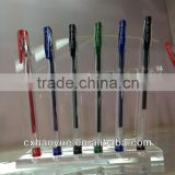 100 style China manufacturer click plastic gel pen