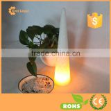2015 New Design LED Christmas Candle Light Battery Operated Christmas Tree Glitter Candle Light