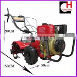 Diesel power Tiller walking tractor for farm cultivation                                                                         Quality Choice