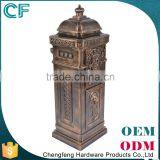 The Most Popular Style In Europe Lion Ornament 100% Original Material Heavy Duty Mail Box From China