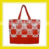 2016 Hot Sell Products Bros Baby Rinne Red White Checked Pattern Large Shoulder Bag
