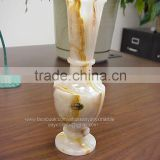 Light Green Onyx Vase in Cheap Price